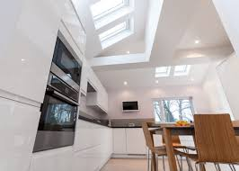 Cheap Lights In Dining Room Fireplace Charming 1182018 New View Showing Vaulted Ceiling With Velux Decor