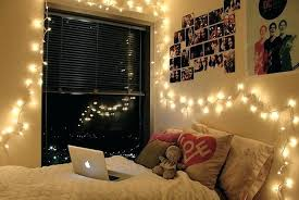 University Bedroom Ideas How To Decorate Your Dorm Room With Fairy Lights In