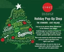 Frasier Christmas Tree by Holiday Pop Up Shop U2014 Crest Hardware True Value