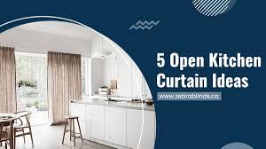 Kitchen Curtain Ideas Pictures 5 Open Kitchen Curtain Ideas