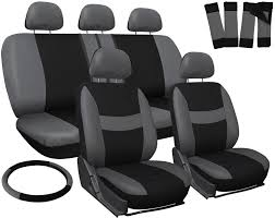 Truck Seat Covers For Toyota Tacoma Gray Black Steering Wheel-Belt ... How To Reupholster A Truck Seat Youtube 2017 Used Toyota Tacoma Sr5 Double Cab 6 Bed V6 4x4 Automatic At Awesome Amazing Car Covers For Corolla Solid Beige New Amazon Smittybilt Gear Black Universal Cover Custom Pickup Auto Sedan Van 12 For Pets Khaki Pet Accsories Formosacovers Elegant Best A Work 19952000 Xcab Front 6040 Split Bench With Seat Cover Deals Toyota Tacoma Free Resume 2018