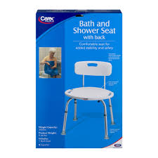 Baby Bath Chair Walmart by Carex Adustable Bath U0026 Shower Seat With Back Walmart Com