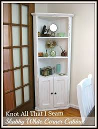 Ideal Dining Room Corner Hutch White Cabinet