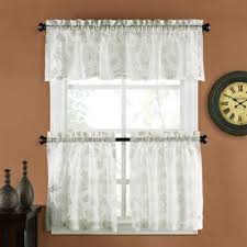 Bed Bath And Beyond Curtains And Valances by Buy Linen Tier Curtains From Bed Bath U0026 Beyond