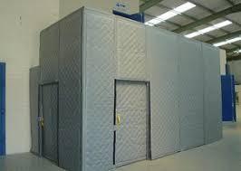portable acoustic curtains drapes enclosures