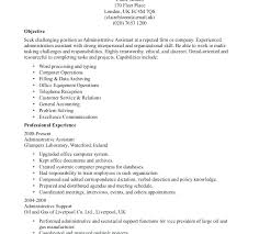Sample Resume For Clerical Administrative General Office Clerk