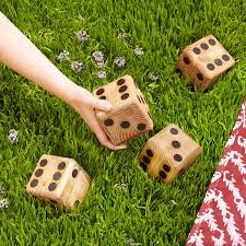 Yard Dice | Backyard Games, Dice, Wooden Game | UncommonGoods 2 Crafty 4 My Skirt Round Up Back Yard Games Amazoncom Poof Outdoor Jarts Lawn Darts Toys These Fun And Funny Minute To Win It Are Perfect For Your How Play Kubb Youtube The Best 32 Backyard That You Can Enjoy With Your Loved Ones 25 Diy Unique Games Ideas On Pinterest Diy Giant Yard Rph In Blue Heels 3rd Annual Beer Olympics
