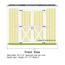 8x10 Saltbox Shed Plans by 10x8 Saltbox Shed Plans