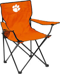 Collegiate Folding Quad Chair With Carry Bag Clemson Tigers ...