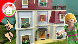 playmobil familie hauser neues puppenhaus 70205 unboxing für kinder