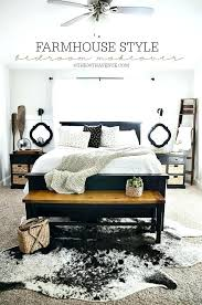 Farmhouse Style Bedroom Sets Bed