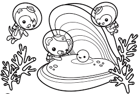 Lovely Octonauts Coloring Pages 43 With Additional Download