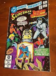 DC COMICS PRESENTS 43 1982 SUPERMAN Legion Of SUPER HEROES MONGOL Sun