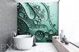 bewunderung des minimalismus fototapeten für badezimmer