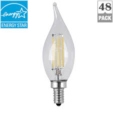 feit electric 40w equivalent soft white ca10 dimmable clear