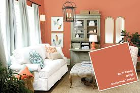 Coral Color Decorating Ideas by Surprising Best Coral Paint Color 37 On Room Decorating Ideas With