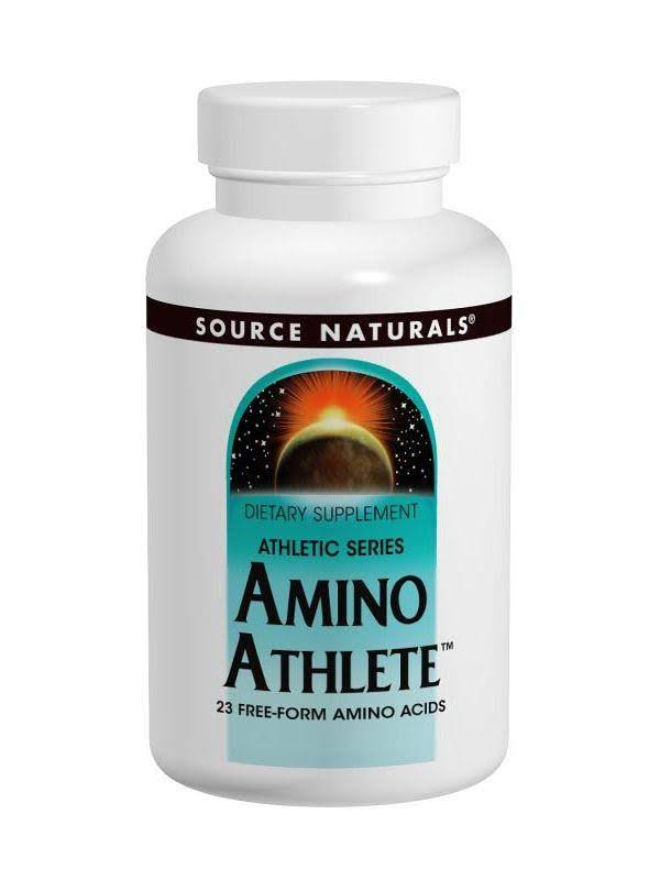 Source Naturals Amino Athlete Dietary Supplement - 100 Tablets