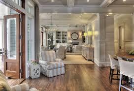 Harmonious Open Kitchen To Dining Room by Open Floor Plan Design Cottage Dining Room Herlong Associates