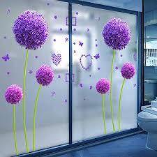 fensterfolie badezimmer toilette glastür aufkleber fenster