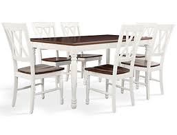 Shelby 7PC White Dining Set