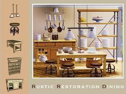 Rustic Restoration Dining By Cashcraft