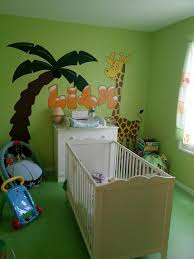 chambre de b b jungle decoration chambre bebe jungle maison design bahbe com