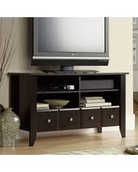 Shoal Creek Dresser Oiled Oak by Check Out These Bargains On Sauder Shoal Creek Panel Tv Stand