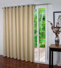 Sheer Curtains For Traverse Rods by Patio Door Curtains Thecurtainshop Com
