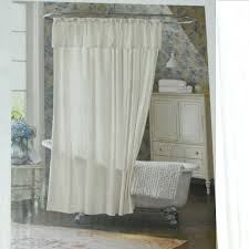 White Ruffle Curtains Target by Shabby Chic Shower Curtains