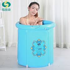 Portable Bathtub For Adults Online India by Heavy Duty Size Folding Bathtub Inflatable Bathtub