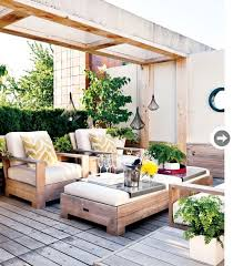 Modern Rustic Outdoor Furniture