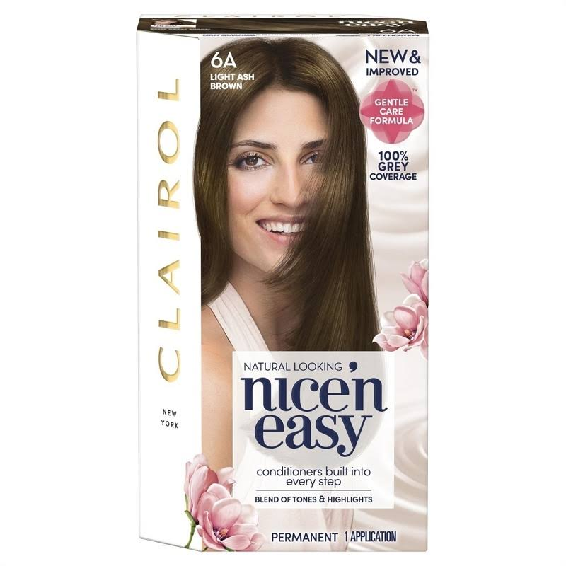 Nice'n Easy Permanent Hair Dye - 6A Light Ash Brown