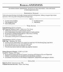 Example Of Yoga Resume Packed With Instructor Teacher New