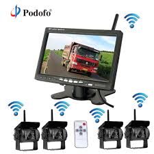 100 Truck Camera System Podofo Wireless 4 Backup S With 7 Inch Car Rear View