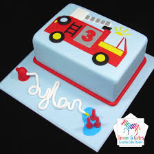 100 Truck Birthday Cakes Fire Cake Sydney Tanner Gates