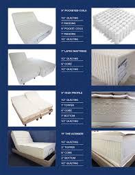Adjustable Split Queen Bed 8q 7s 5d 3e reverie adjustable beds