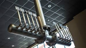 Perlick Beer Tap Tower by Custom Draft Beer Towers Gallery Micro Matic Brygging Etc