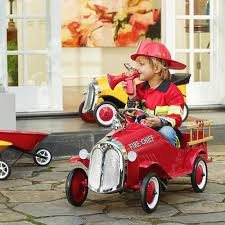Baghera Kids Steel Toy Pedal Car Fire Truck | Pedal Car, Fire Trucks ... Rescue Fire Truck Hip Hooray Amazoncom Kid Motorz Engine 6v Red Toys Games Ride On Toy Kids Car Children Push Along Outdoor Wheels Electric 1938 Classic Pedal Vintage Radio Flyer Fire Truck Ride On Kids Toy 27 Long Adventure Force Mighty Walmartcom Baghera Speedster Pompier Mee Ldon Best Choice Products Truck Speedster Metal Engine Little Tikes Spray And Freds Jolly Roger