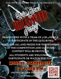 Hard Halloween Trivia Questions And Answers by Events And Announcements Ipfw