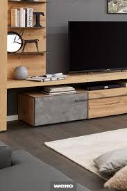 coole akzente in beton wohnzimmermöbel wohnen