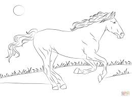 Horse Coloring Pages Printable Horses Free Online
