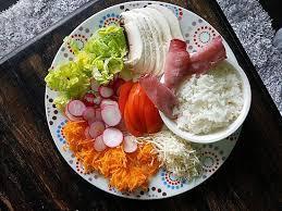 cuisiner équilibré recette de salade fraîcheur et équilibre n 1 par mélimélflo