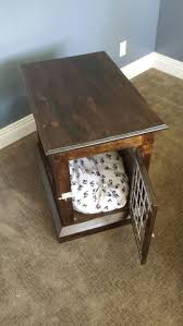 How To Build A End Table Dog Crate by Dog Kennel End Table 13 Steps With Pictures