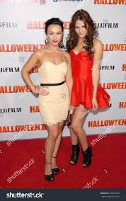 Scout Taylor Compton Halloween 3 by Danielle Harris Scout Taylorcompton Los Angeles Stock Photo
