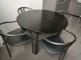 tisch esszimmer küche mit 4 stühlen