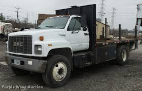 1995 GMC TopKick Flatbed Truck   Item L4517   SOLD! March 2 ... 1995 Gmc Topkick Kodiak Flatbed Dump Truck 212 Equipment Columbia Box With Dodge Ram 3500 For Sale And Gmc Topkick Service Truck Dogface Heavy Sales 2003 C8500 Daycab Tractor Cassone Ironhide Edition Topkick 6500 Pickup By Monroe Photo Chevrolet Cstruction Plant Wiki Fandom 1991 Single Axle For Sale Arthur Trovei Garbage 1990 Reel Truck Item L5636 Sold November 9 Flatbed V10 Fs 17 Farming Simulator Mod C7500 Auction Or Lease