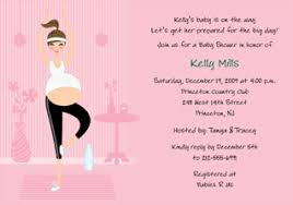 Yoga Mom Invitation Om Baby Shower Theme Inspiration Board