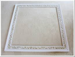 Bathroom Mosaic Mirror Tiles by How To Decorate A Mirror With Tile Sand And Sisal
