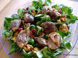 cuisiner les gesiers salade de gésiers de canard confits aux airelles noix la
