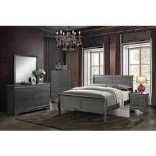 louis phillipe queen sleigh bed set